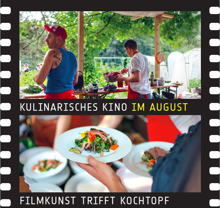 Vorverkauf startet: Kulinarisches Kino im August