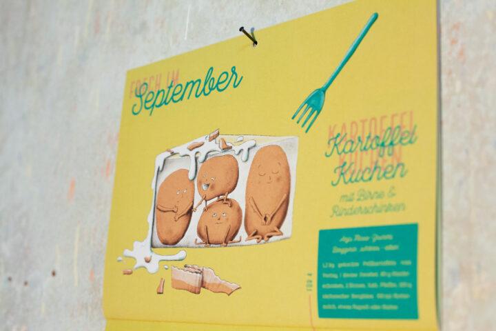 Rezeptekalender-Verlosung: Nimm teil und gewinne Leipzigs ersten Rezeptekalender für Deine Küchenwand