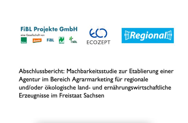 Machbarkeitsstudie zur Etablierung einer Bio/Regio-Marketingagentur in Sachsen veröffentlicht