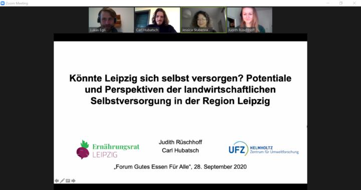 Der Ernährungsrat Leipzig stellt sich vor: AG Forschung