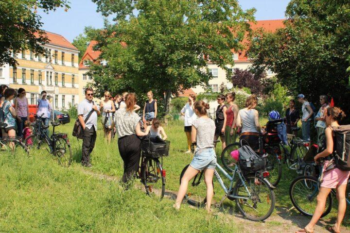 Radtour – Gemeinsam Gärtnern in der Stadt